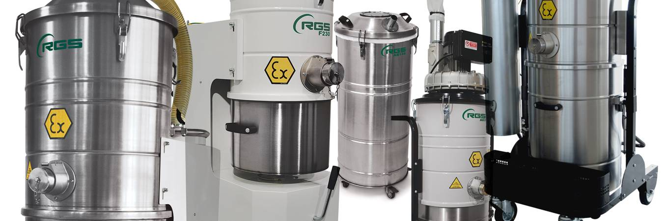 Industrial vacuum cleaners for all areas of industry